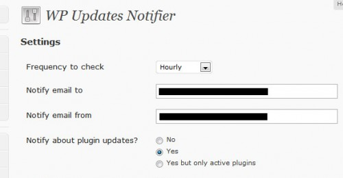 WP Updates Notifier