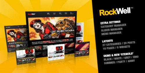 RockWell - Portfolio & Blog WP Theme