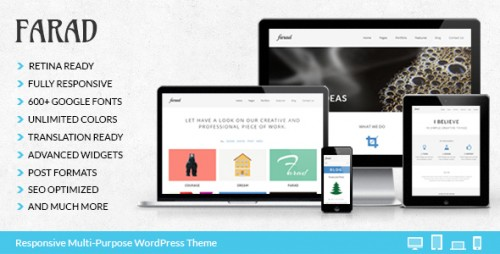 Farad - Responsive Multi-Purpose Theme
