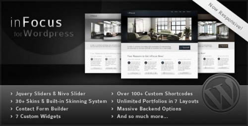 inFocus - Powerful Professional WP Theme