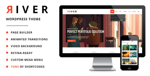 River - Retina WordPress Theme