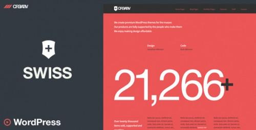 Swiss - Premium WordPress Theme