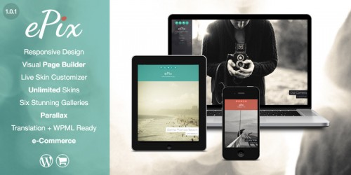 ePix - Fullscreen Photography Theme