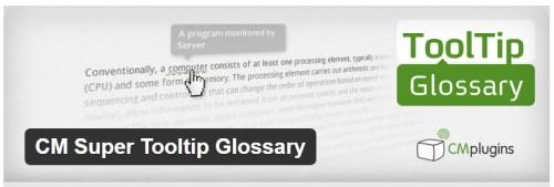 CM Super Tooltip Glossary