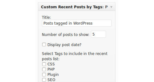 Recent Posts by Tags