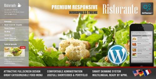 Ristorante Responsive Restaurant Theme