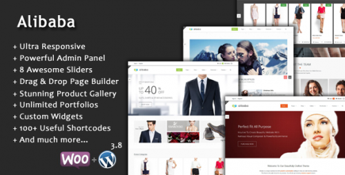 Alibaba Multi Purpose Responsive MarketPlace Theme