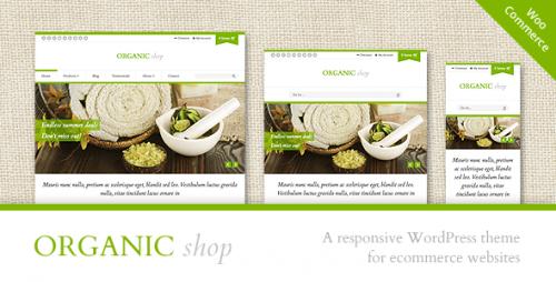 Organic Shop - Responsive WooCommerce Theme