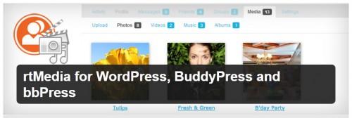 rtMedia for WordPress