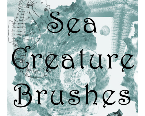 Free Sea Creature Brushes for PS