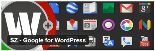 SZ - Google for WordPress