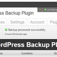 myRepono WordPress Backup Plugin