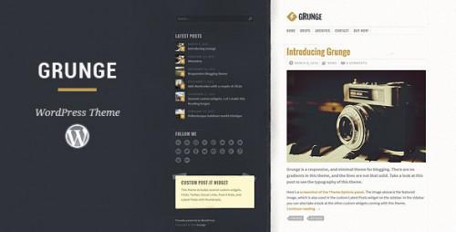 Grunge - Responsive Blog Theme