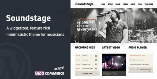 Soundstage - WordPress Theme For Bands, Musicians