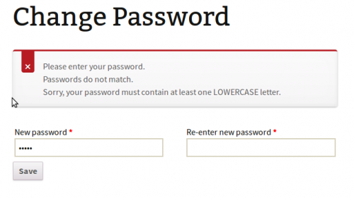 Woocommerce Enforce Strong Password
