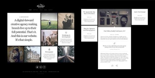 Bleecker - Responsive Retina-Ready WP Portfolio Theme
