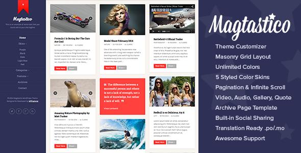 20 Best Premium Blogging WordPress Themes - WPJuices