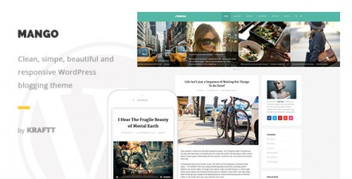 Mango - Responsive WordPress Blog Theme