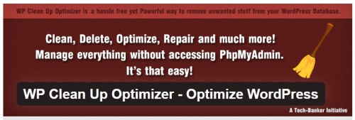 WP Clean Up Optimizer