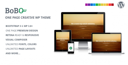 Bobo - One Page Multifunctional WP Theme