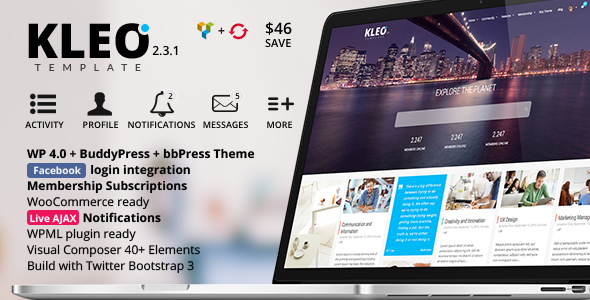 15 Beautiful Bootstrap 3 WordPress Premium Themes - WPJuices