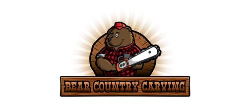 Lumberjack Bear Logo