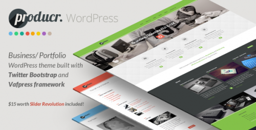 Producr - Business, Folio WordPress Theme