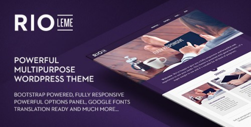RioLeme - Responsive Multi-Purpose WordPress Theme