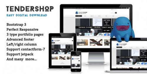 Tendershop Responsive Easy Digital Theme