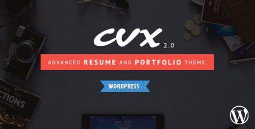 CVX - Resume and Portfolio WordPress Theme