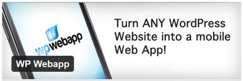 WP Webapp