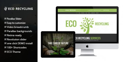 Eco Recycling - Multipurpose WooCommerce Theme