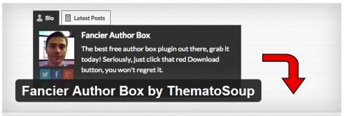 Fancier Author Box by ThematoSoup