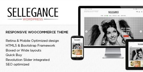 Sellegance - Responsive WooCommerce Theme