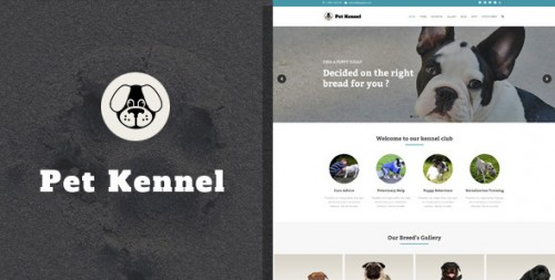 Pet Care Dog Kennels WordPress Theme