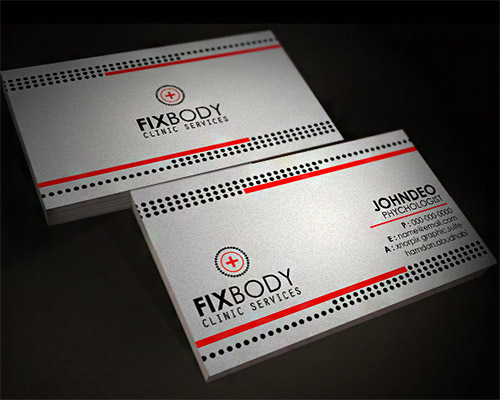 Clinic Business Card
