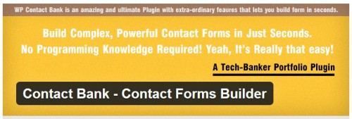 Contact Bank - Contact Forms Builder