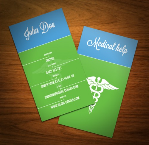 Cool Medical Business Card Ideas