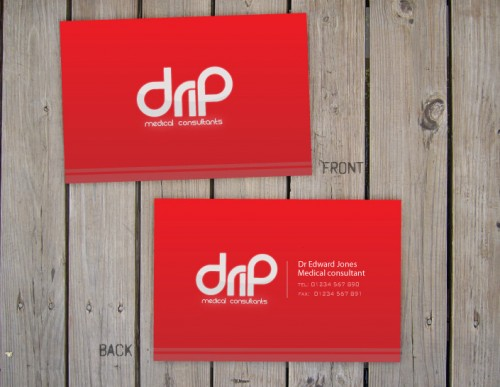Drip Medical Business Card