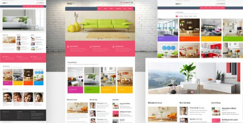 Innova - Interior & Furniture WordPress CMS Theme