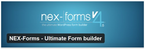 NEX-Forms - Ultimate Form Builder