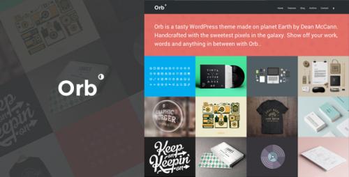 Orb - A Neat Grid Style Portfolio Theme