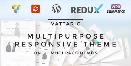Vattaric - Multipurpose Responsive Theme