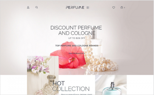 Perfume Shop WooCommerce Theme