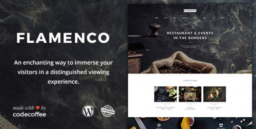Flamenco - Restaurant and Bar WordPress Theme