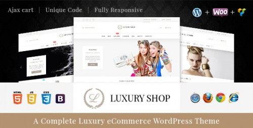 Luxury - eCommerce WordPress Theme