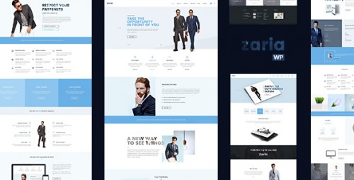 Zaria - Business Consulting WordPress Theme