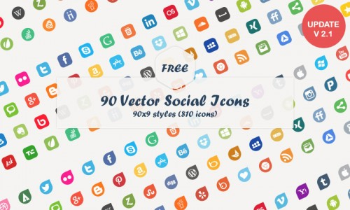 Best Social Media Vector Icons