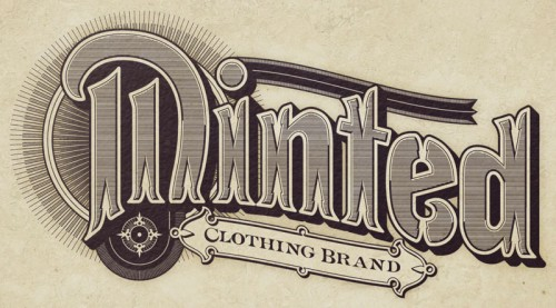 Vintage Typography - Minted