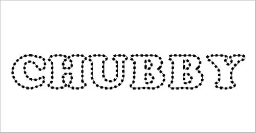 Chubby Trail Font